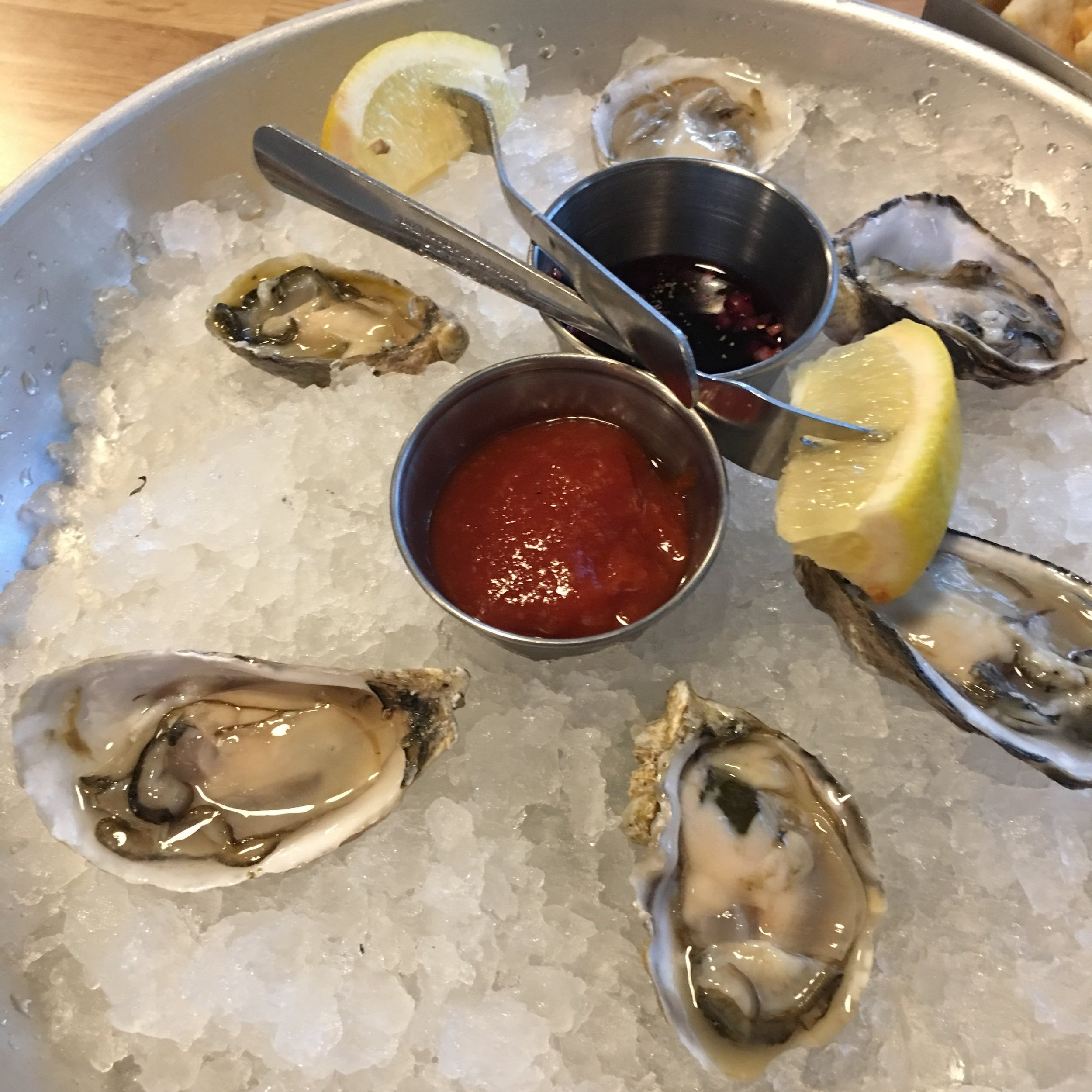 Oysters|  PHOTO COURTESY OF ELENA VIVAS