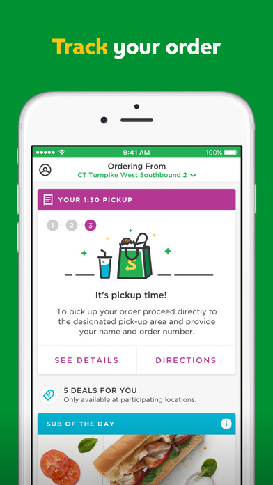 iTunes preview of SUBWAY® App