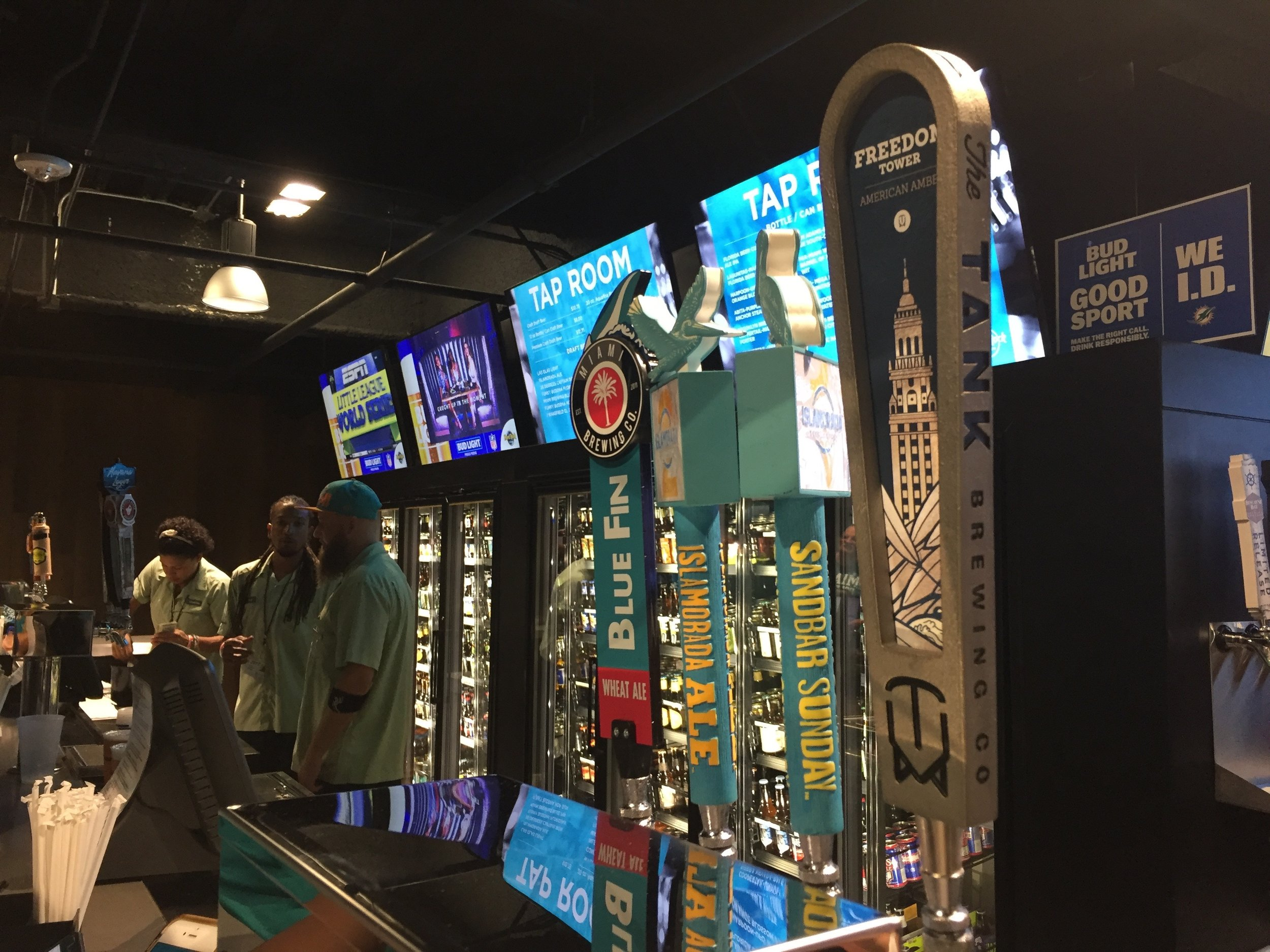 Tap Room Hard Rock Stadium