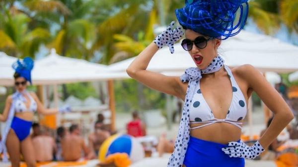 Nikki Beach French Style Dancer