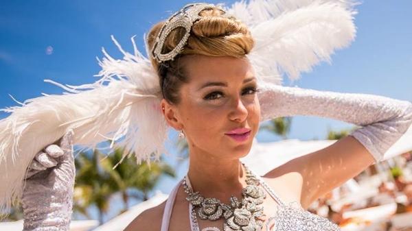 Nikki Beach Burlesque Dancer