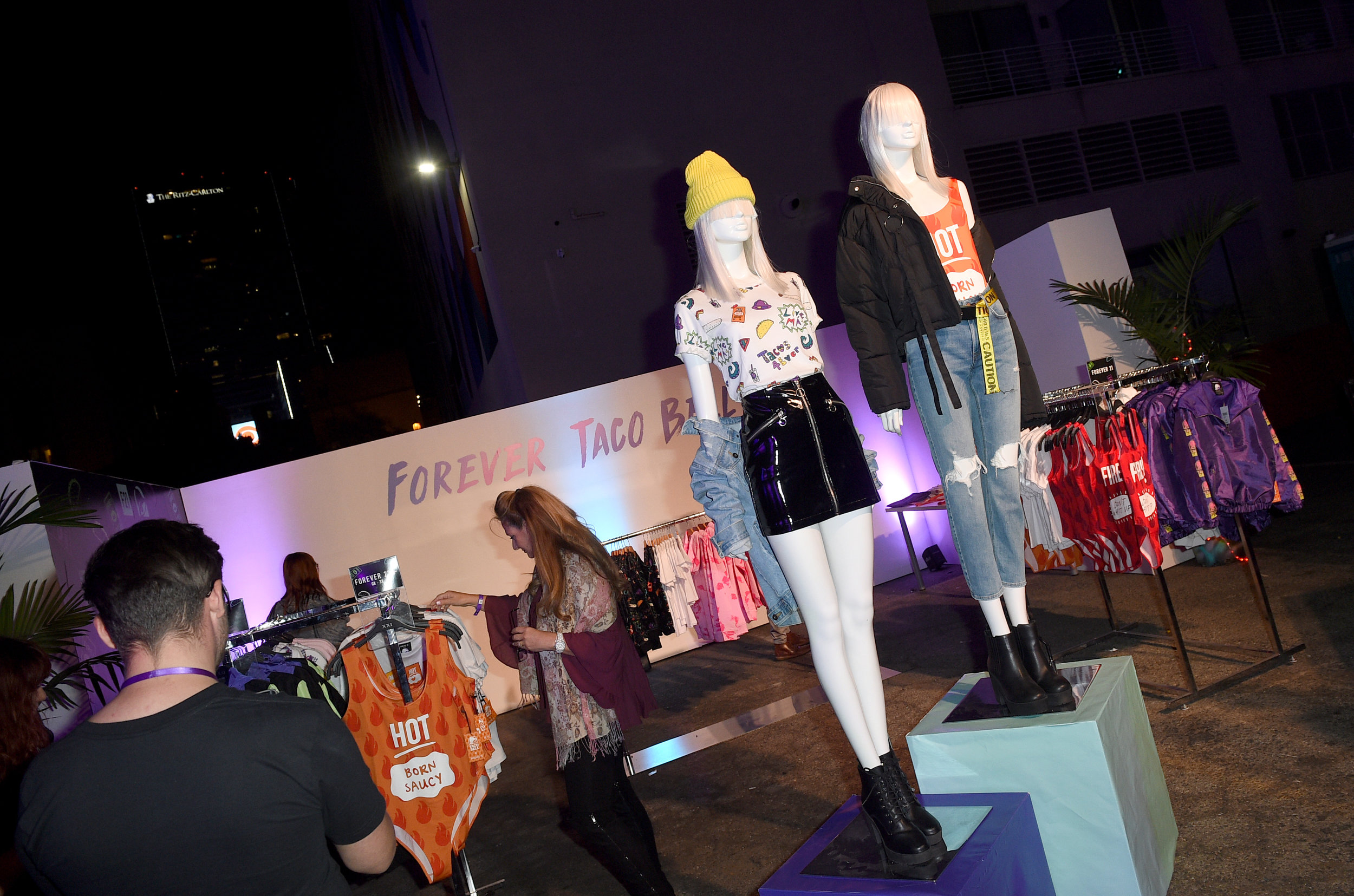 Taco Bell & Forever 21 Launch Event |   FTP Edelman & Taco Bell