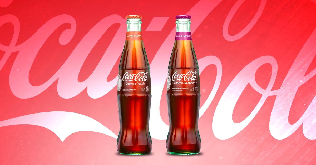 Coke's new Strawberry Raspberry and Georgia Peach flavors | Coca-Cola