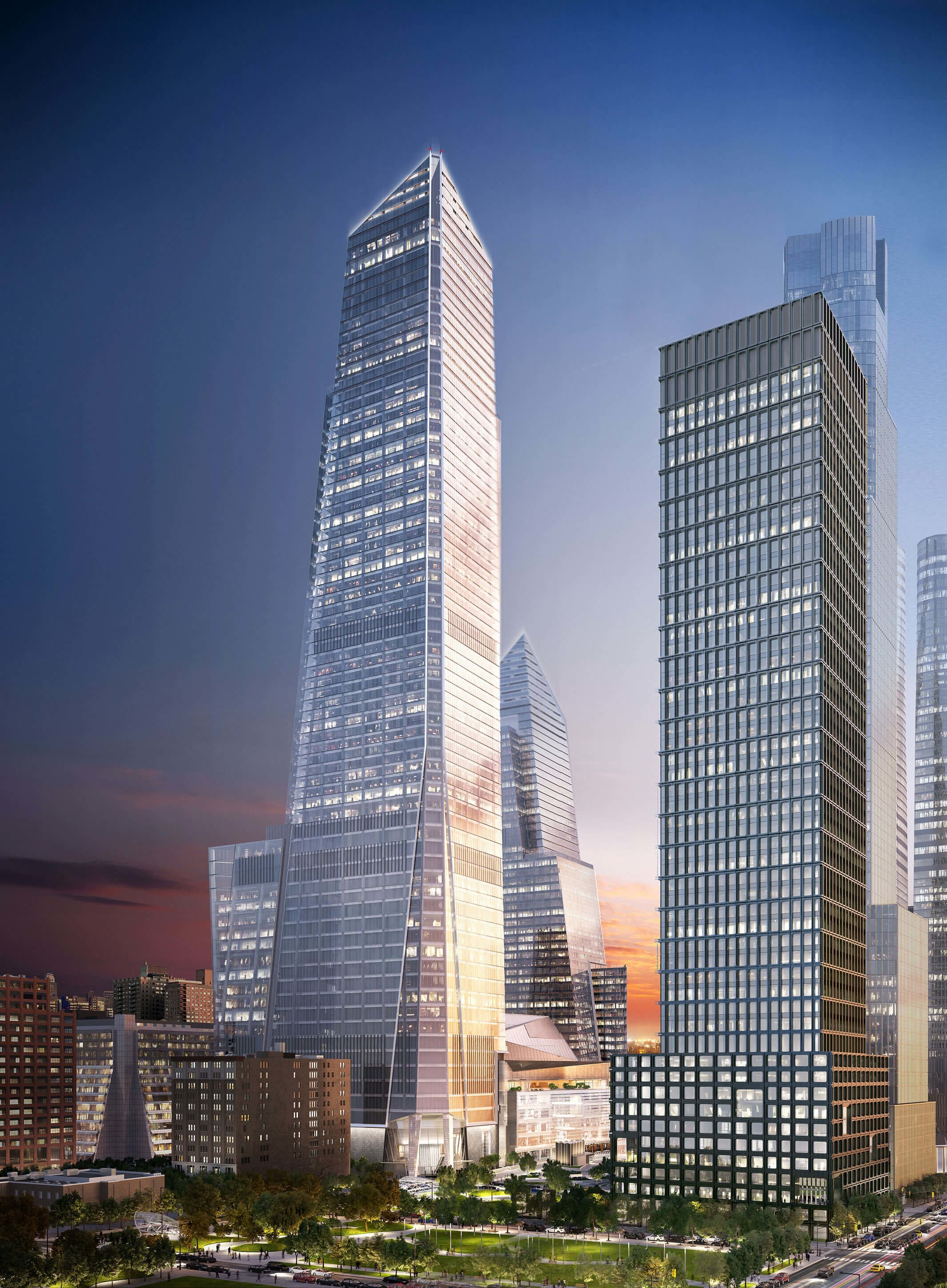 30 Hudson Yards Looking Southeast | Courtesy Related-Oxford