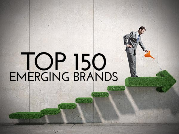 TOP 150 EMERGING BRANDS