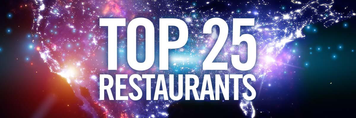National US Top 25 Restaurants