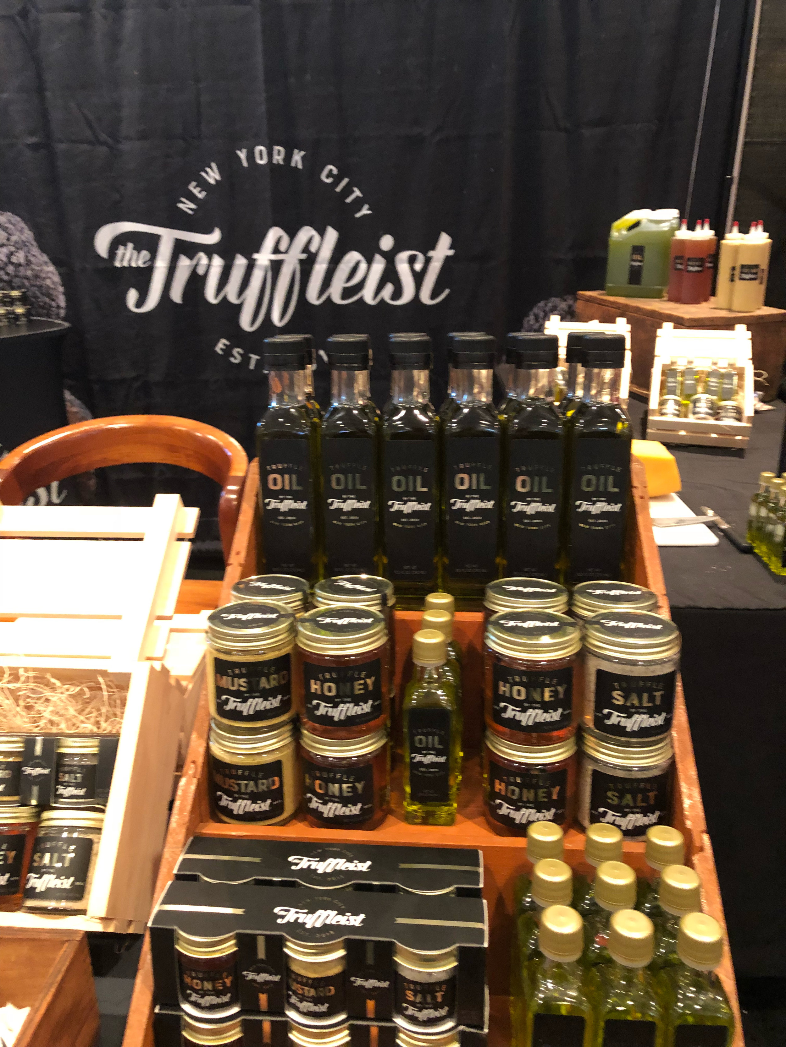 The Truffleist products at the 2018 Summer Fancy Food Show |  Foodable Network