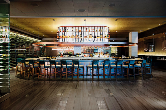 The Double Eagle Steakhouse interior at the Back Bay location |   Del Frisco's Restaurant Group