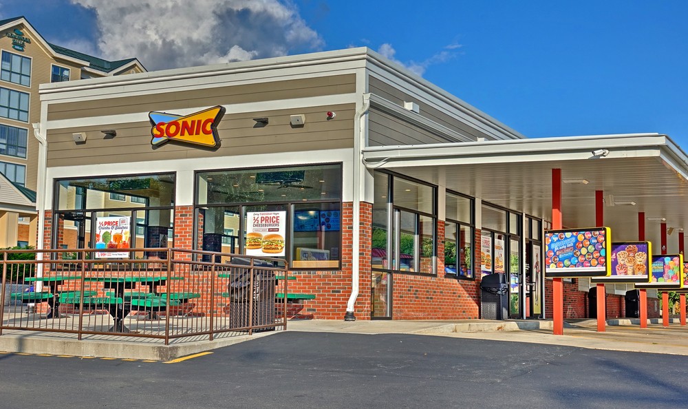 Sonic Drive-in Exterior shot