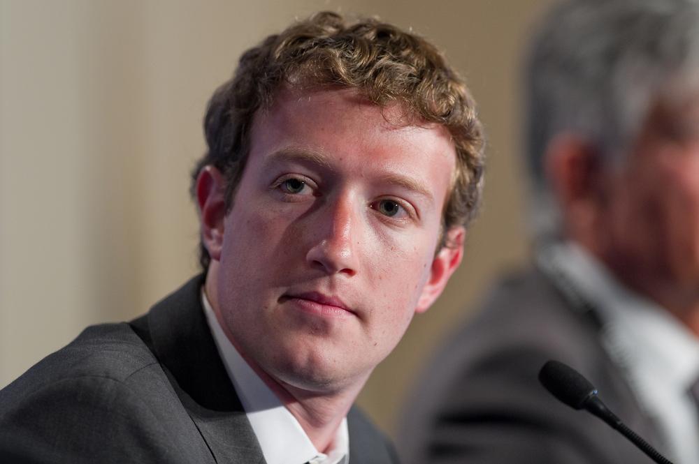 Mark Zuckerberg |   Shuttershock