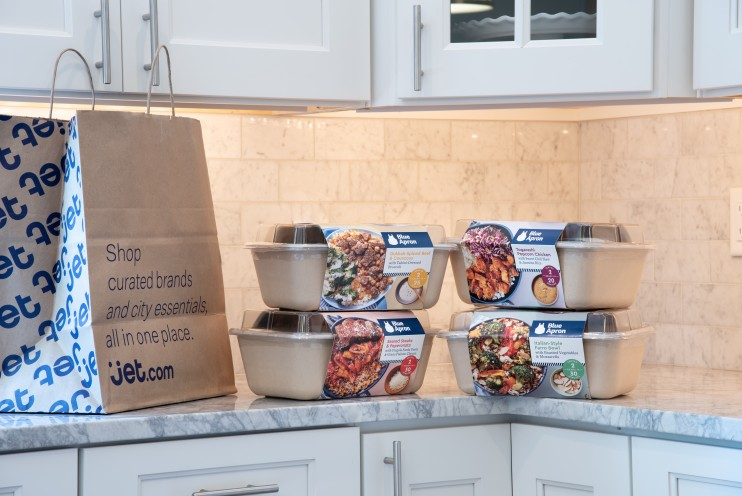 Blue Apron meal-kits from Jet.com |   Blue Apron