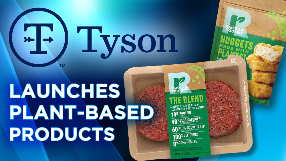 Tyson Foods Launches Plant-Based Brand
