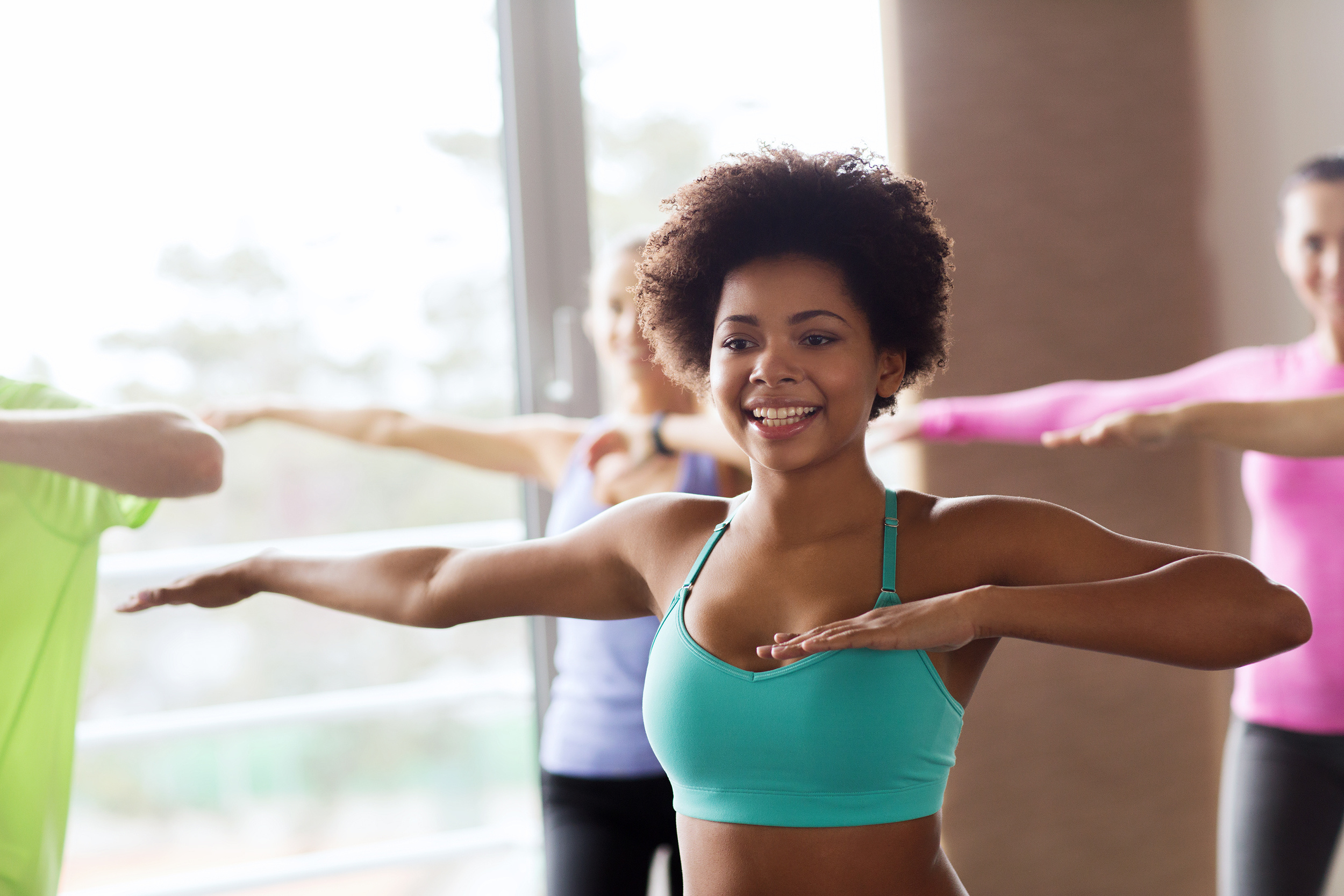 You never thought  liking  exercise could happen to you, did you?