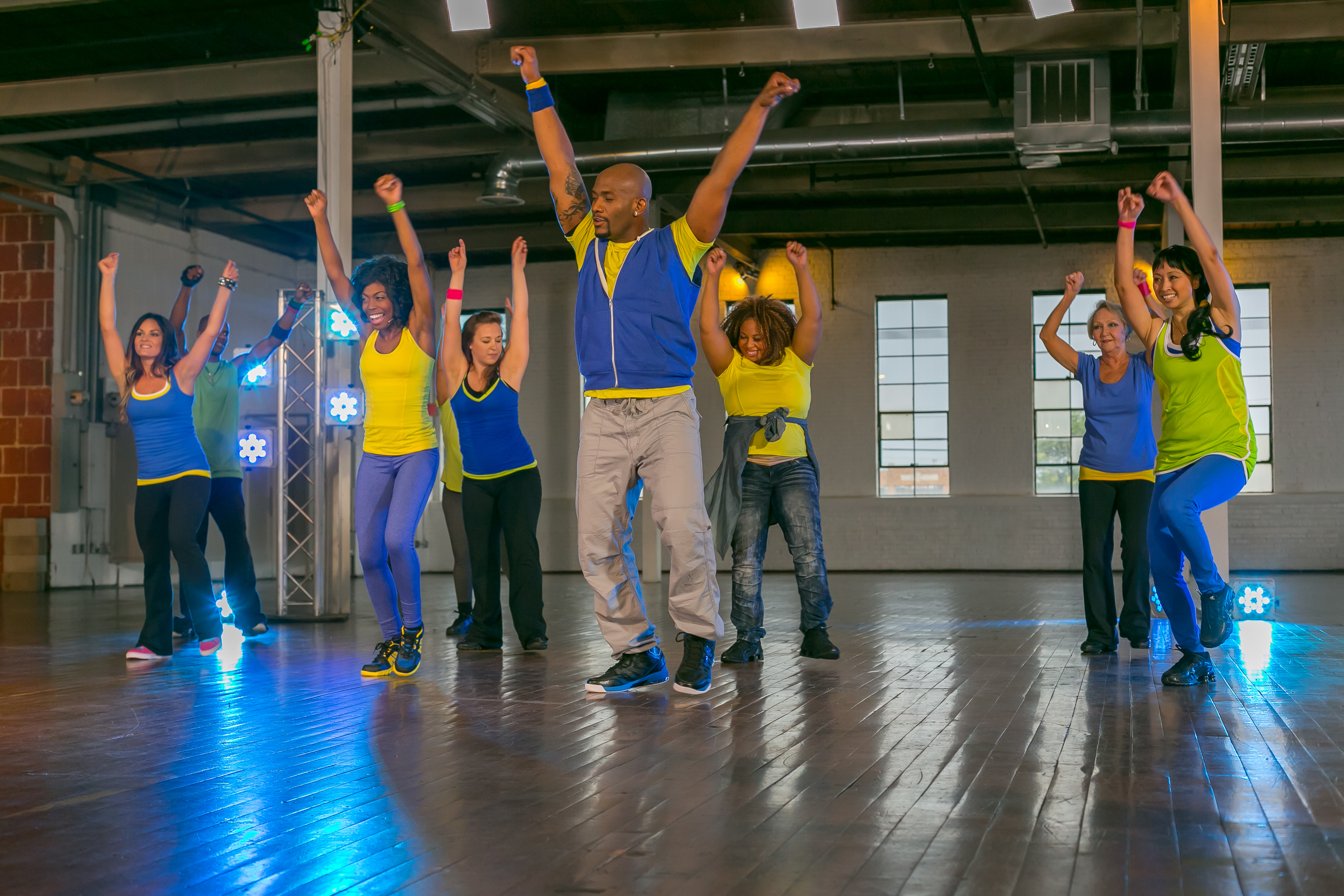 """Celebrate National Dance Day on July 25 with the """"Shazzy Fitness: A Time to Dance"""" video."""