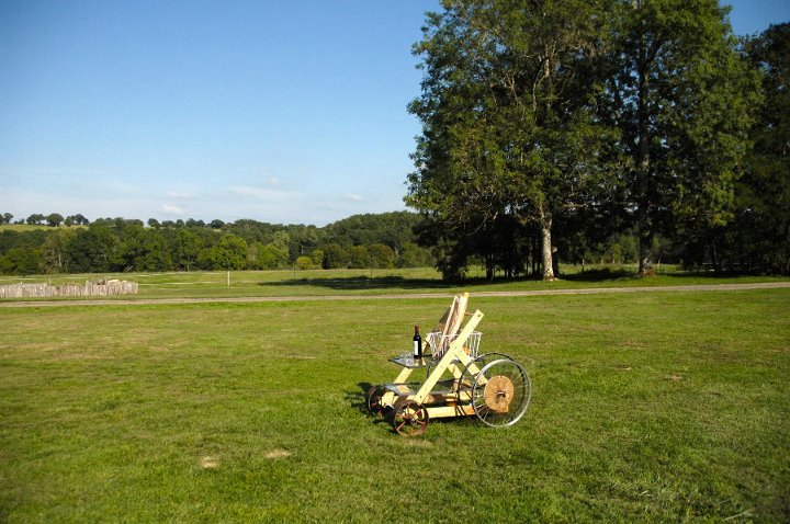 Boisbuchet service cart