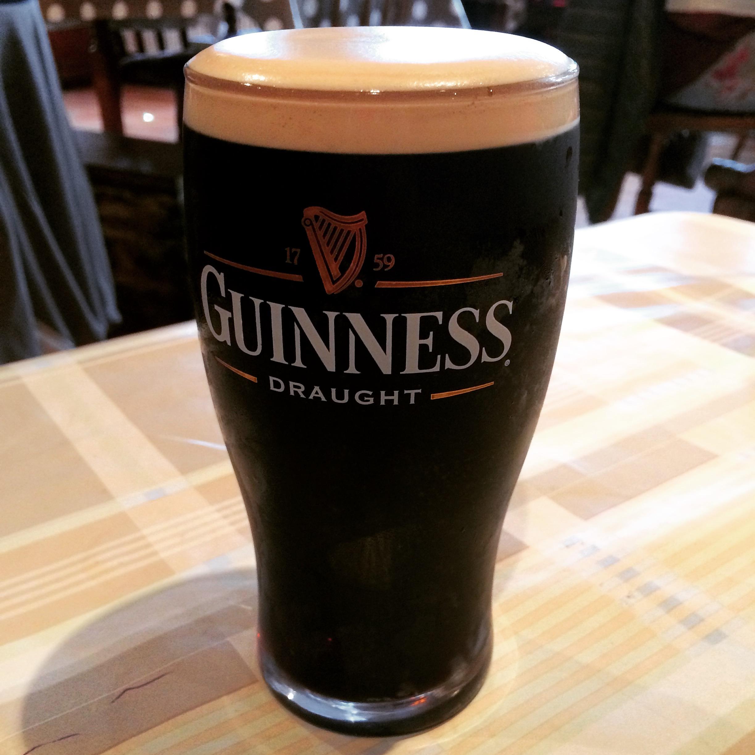 Guinness beer in Ireland