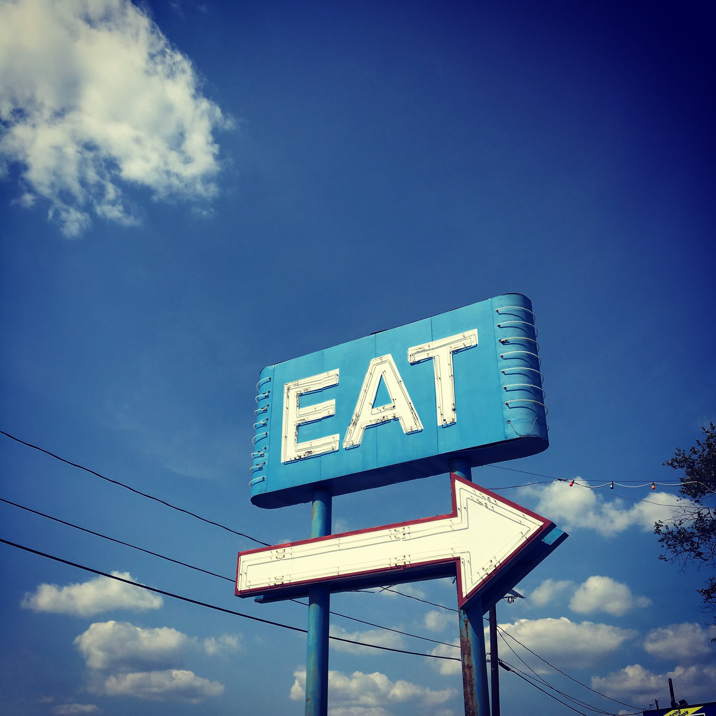 Eat sign, NJ