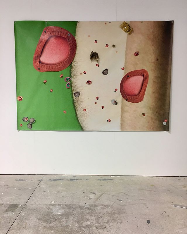 Last day to see MFA grad show. Open today from 10-4. Whitecliffe 130 St Georges Bay Rd.