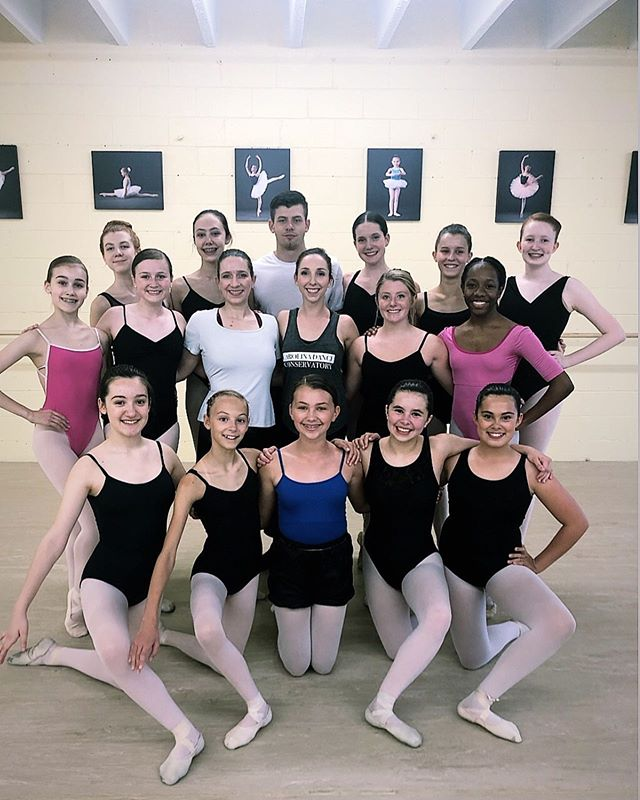 Thank you dancers for a wonderful class! See you soon! #ballet #yeahthatgreenville #futureofballet #simpsonville #simpsonvillesc