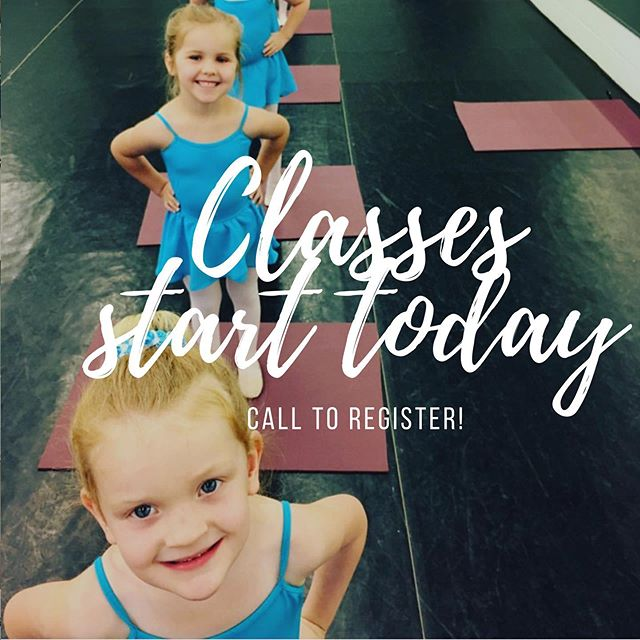 Classes start today! We have just a few spaces left in our beginner program, call 864-525-4307 to reserve a spot for your dancer! #ballet #yeahthatgreenville #carolinadanceconservatory #futureofballet
