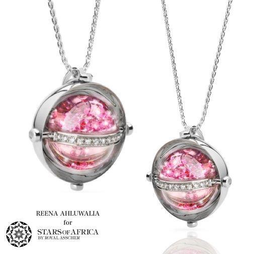 Reena Ahluwalia_Royal Asscher_Star of Africa pink sapphires pendant.jpg