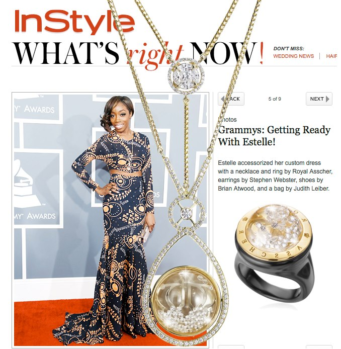 Singer Estelle_Grammys_ Reena Ahluwalia_Royal Asscher_Star of Africa.jpg