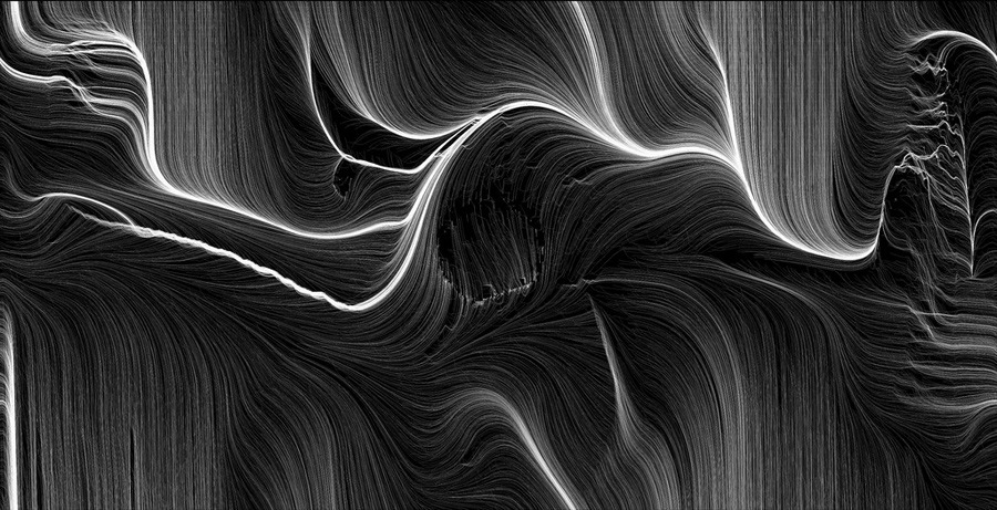 Generative drawing by Leonardo Solaas.