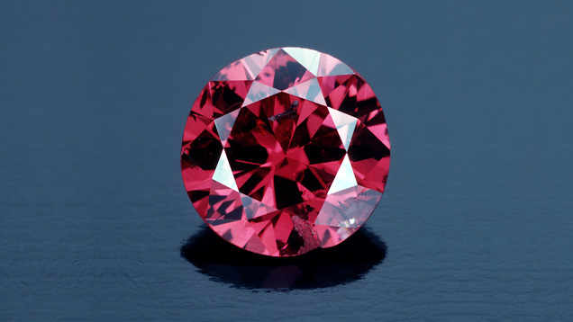 Image: 0.95 carat Hancock Red diamond.Photo by Tino Hammid via GIA