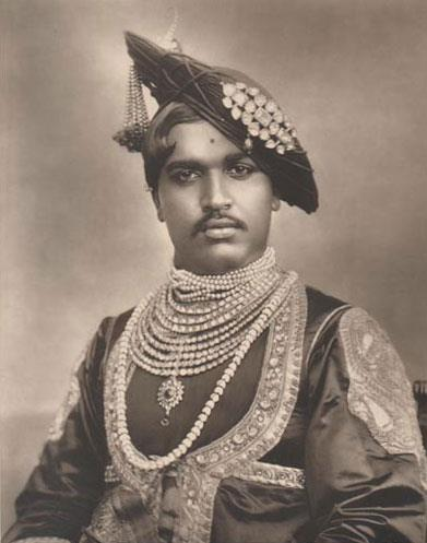 The Maharajah of Kolhapur.