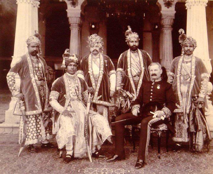 The Maharaja of Alwar. (1882-1937). Royal India.
