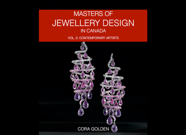 Book Cover. Masters of Jewellery Design in Canada. Vol. 2: Contemporary Artists by author Cora Golden .