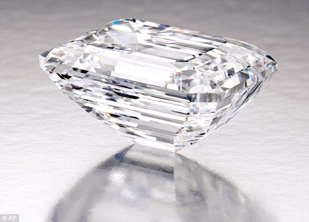 100.20-Carat, Type IIa, Internally Flawless 'Perfect Diamond' could fetch $25 Million in auction in New York in 2015. Photo courtesy: AP