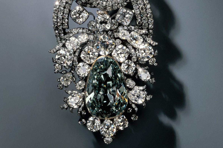 Famous Dresden Green Diamond.