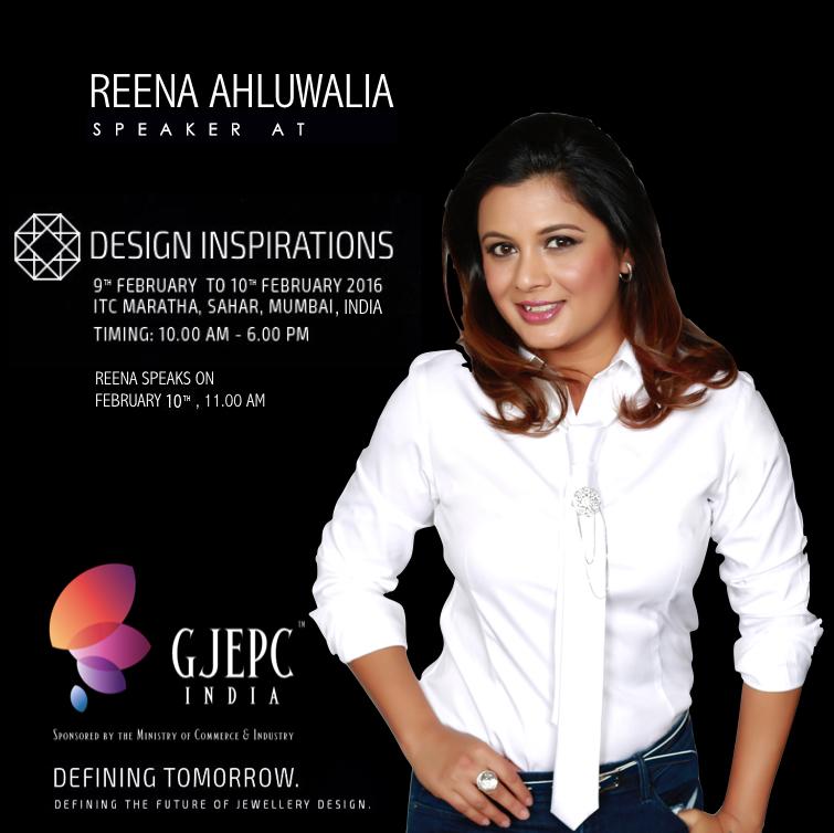 Reena Ahluwalia_Jewelry Designer_Speaker_Design Inspirations_GJEPC