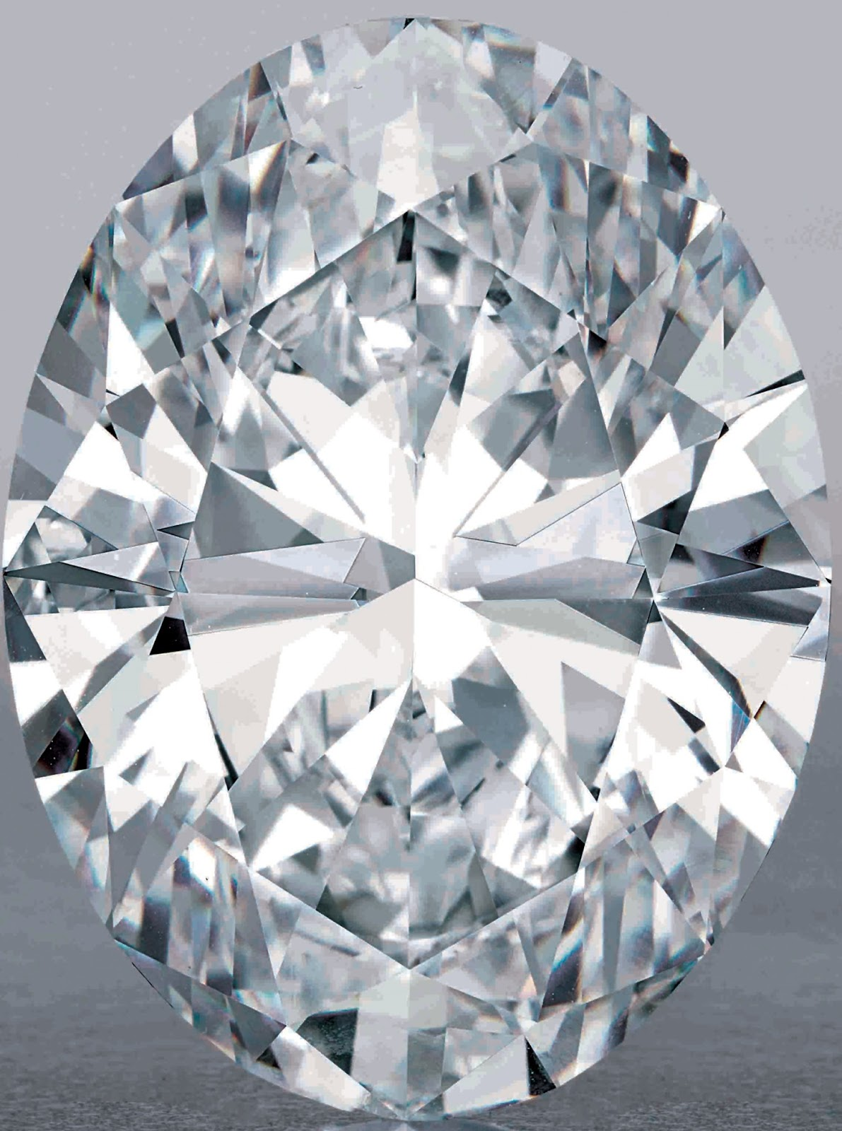 118.28-carat, D-color, flawless, Type IIa, magnificent oval diamond. Image: Sotheby's