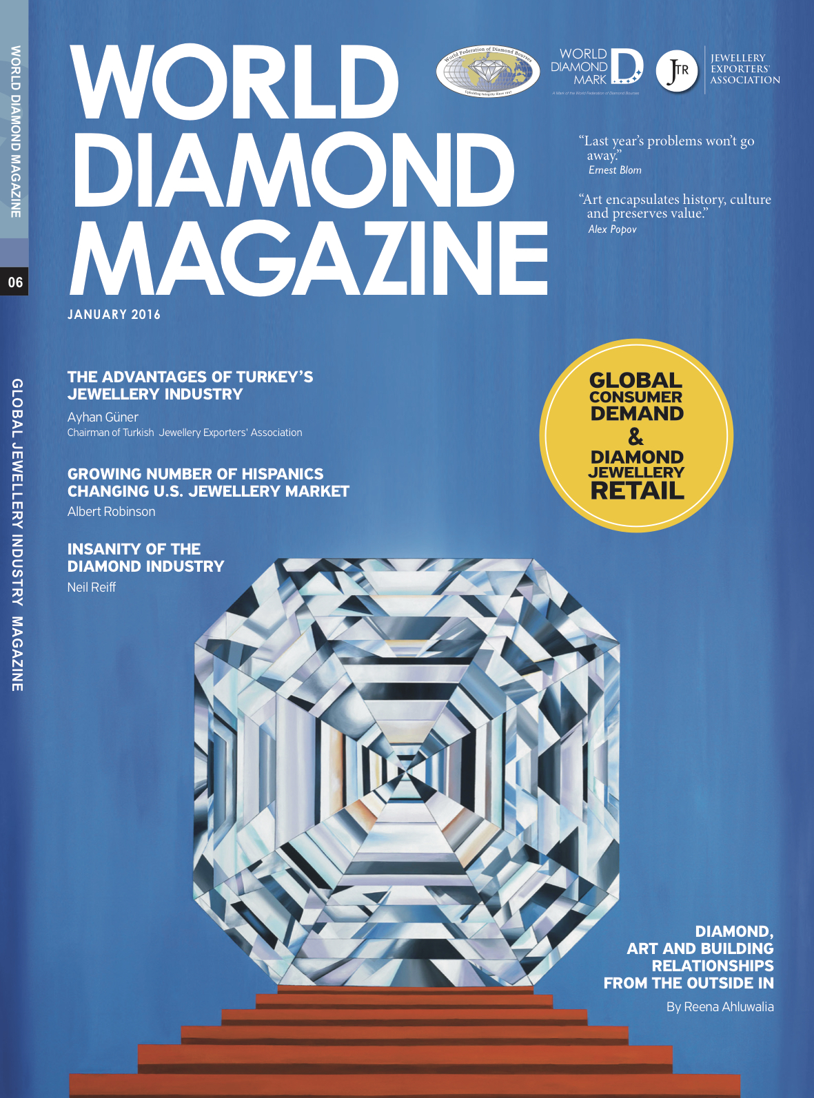 World Diamond Magazine_Jan 2016_World Diamond Mark_Reena Ahluwalia Diamond Painting