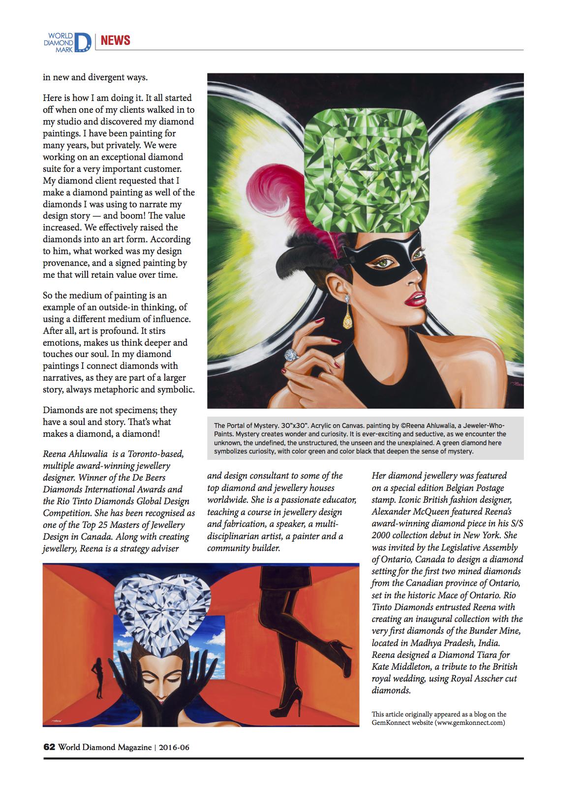 World Diamond Mark_Reena Ahluwalia Interview_Page3