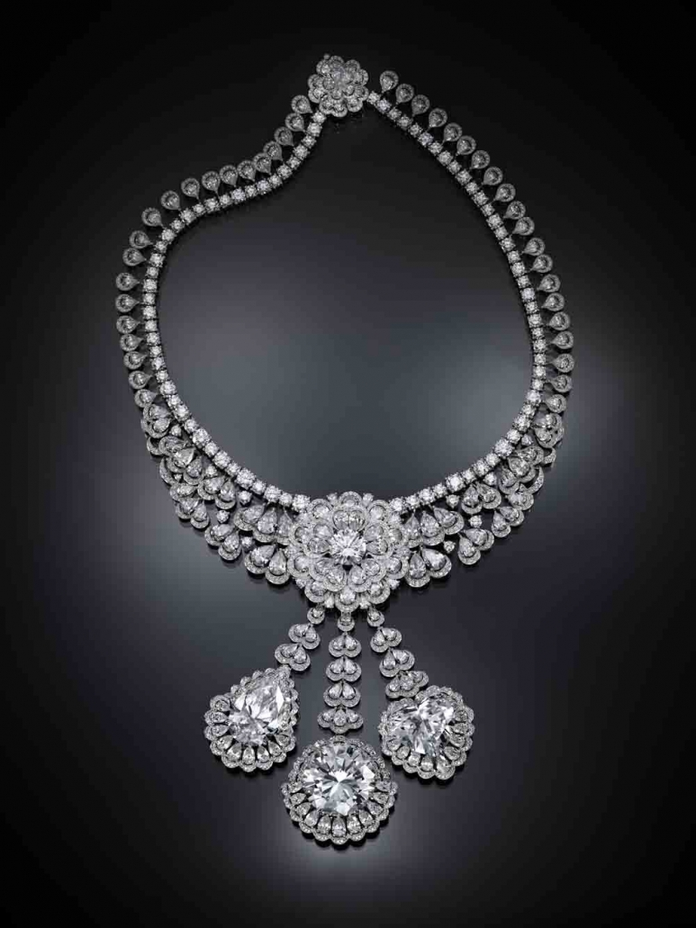 THE GARDEN OF KALAHARI, a collection of six Type II A diamond jewellery creations by Caroline Scheufele, Chopard. http://www.chopard.com/diary/the-queen-of-kalahari/