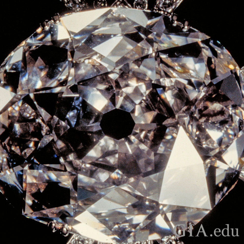 The legendary Koh-i-Noor diamond came from India's alluvial mines thousands of years ago, sifted from the sand. According to Hindu belief, it was revered by gods like Krishna—even though it seemed to carry a curse, if the luck of its owners was anything to go by. The gem, which would come to be known as the Koh-i-Noor Diamond, wove its way through Indian court intrigues before eventually ending up in the British Crown Jewels by the mid-1800s. Image: GIA