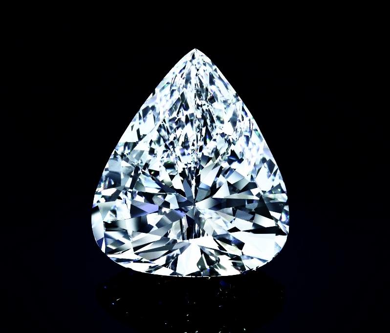 The Star of Sierra Leone VI Diamond (unmounted). Image: Christie's / Harry Winston