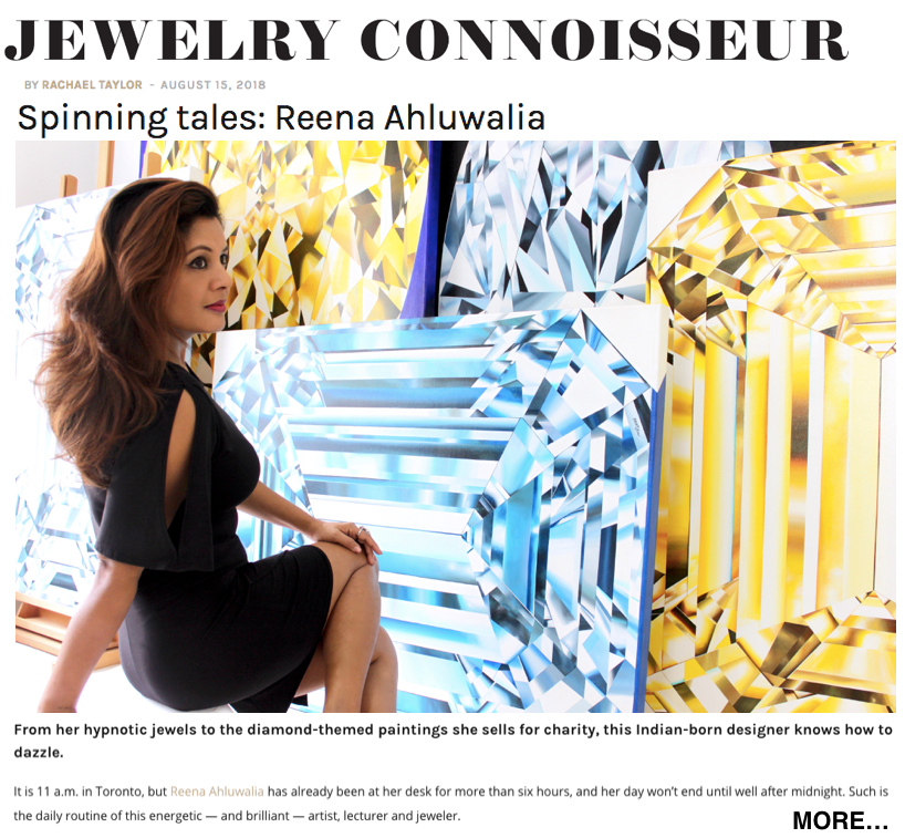 JEWELLERY CONNOISSEUR | RAPAPORT. Editor: Rachael Taylor
