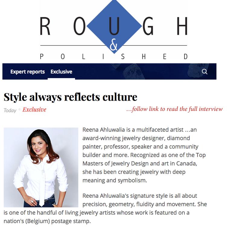 ROUGH & POLISHED. Editor: Aruna Gaitonde