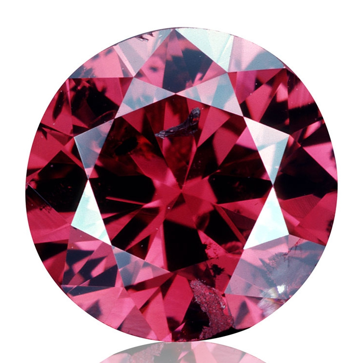 The 0.95 ct Hancock Red, auctioned by Christie's New York on April 28, 1987, it was  sold for $880,000 . The Hancock Red Diamond was part of the collection of Mr Hancock, a farmer from Montana, who was rumoured to have purchased the diamond for $13,500 in 1956. What made this diamond special was its colour: Fancy Purple-Red. Only one in 100,000 diamonds qualifies as a 'Fancy' colour. Image credit: © GIA & Tino Hammid.