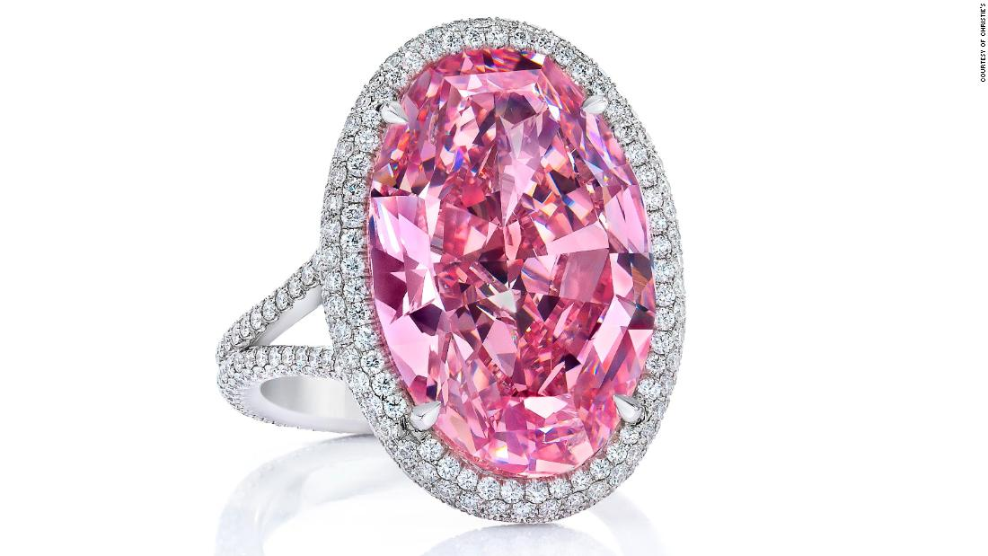 Stephen Silver, gemologist and jeweler, who is known for his keen eye for gemstones sold the Pink Promise, a Type IIa, 14.93 carat Fancy Vivid Pink Diamond for $32 million at the Christies' Hong Kong Auction, 2017.