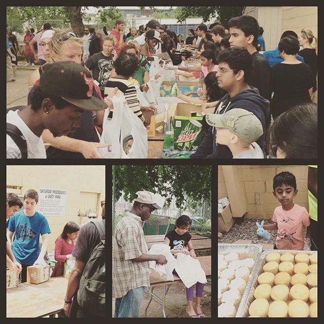 Cultivating a heart of giving ❤️ students feeding the #homeless / #veteran 🇺🇸#unitypark #montessori #kindness #respect #compassion #help 🌎#summerschool #artclass #kindergarten #headstart