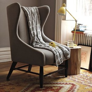 The West Elm Ellery Chair was not available, and the legs were too black for me
