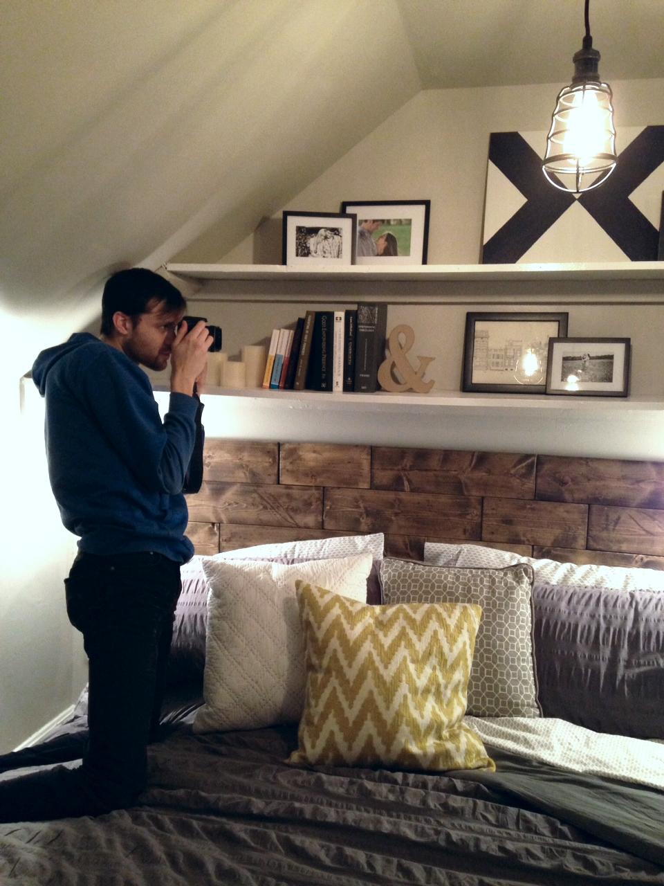 Photographing something photographing something...