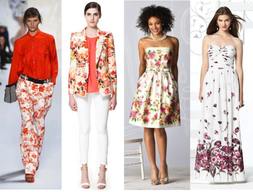 How Floral trends translate to Bridal Attire – via Ellie's Bridal Blog