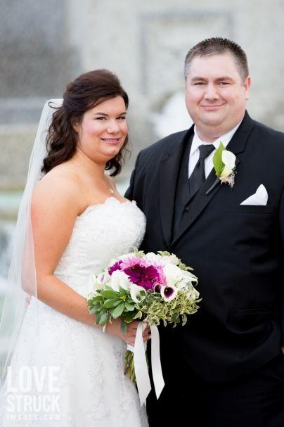 Jennifer + Peter on September 28, 2013 ♥ Love Struck Images at St. Patricks Cathedral (Washington DC)