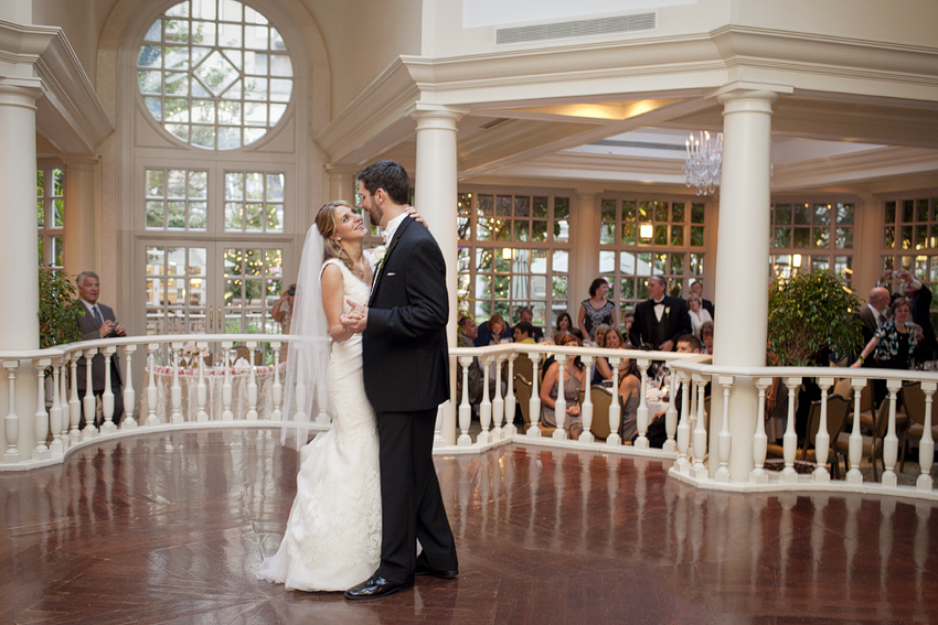 Lindsay + Paul on June 30, 2012 ♥ Kristen Gardner Photography at the Fairmont (Georgetown, DC)